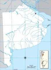 de Buenos Aires Mapa de ríos y montañas de Buenos Aires. Mapoteca de ...